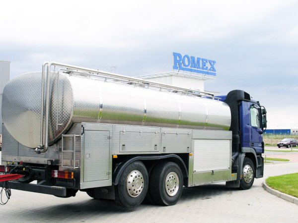 ROMEX - CISTERNE PENTRU TRANSPORT PRODUSE ALIMENTARE